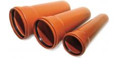 Трубы для наружной канализации и комплектующие