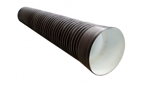 Труба в канаву на заезд 290/250 L=6м с раструбом SN 6