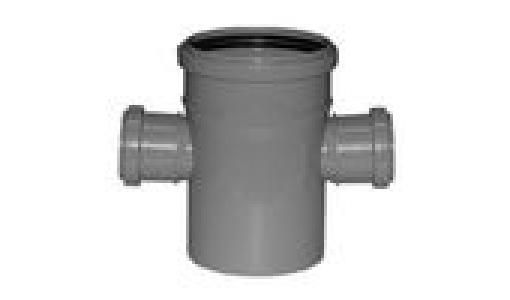 Крестовина для внутренней канализации 110х50х50мм угол 87°