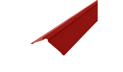 Конек плоский 2000 мм винно-красный (RAL 3005)