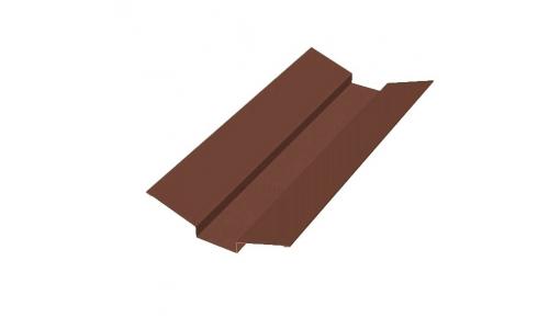 Ендова наружная 2 м шоколадно-коричневая (RAL 8017)