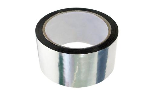 Лента клейкая алюминиевая 48ммх25м