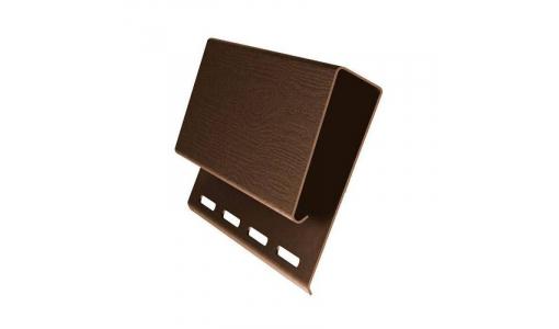 Наличник профиль J широкий 3,05 GL коричневый