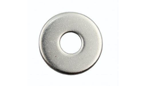 Шайба 10 плоская (кузовная), DIN 9021, цинк (уп. 50 шт)