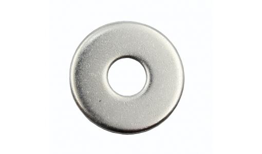 Шайба 14 плоская (кузовная), DIN 9021, цинк (уп. 25 шт)