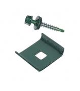 Скоба универсальная зеленая (набор из 3-х штук)