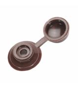Колпачок для кровли коричневый (100 шт)
