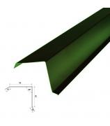 Планка торцевая 2000 мм зелёный мох (RAL 6005)