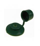 Колпачок для кровли зеленый (100 шт)