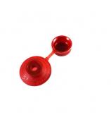 Колпачок для кровли красный (100 шт)