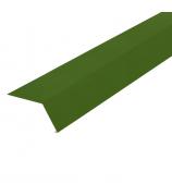 Планка карнизная (капельник) 2000 мм зелёный мох (RAL 6005)