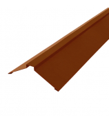 Конек плоский 2000 мм шоколадно-коричневый (RAL 8017)