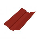 Ендова наружная 2 м винно-красная (RAL 3005)