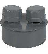 Клапан обратный для внутренней канализации 110мм