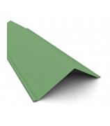 Конек полимерный 1,2м*0,15м зеленый