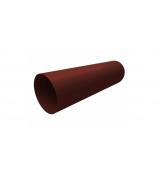 Труба ПВХ GL 3 м шоколадная