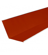 Ендова внутренняя 2 м винно-красная (RAL 3005)