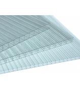 Лист поликарбонатный СП Киви 8,0 мм 2,1х6,0 м прозрачный
