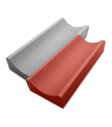 Водосток малый 500х160 серый