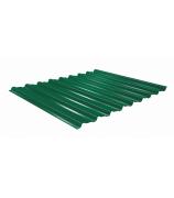 Профнастил С8  РЕ 1,2х2м зеленый 6005