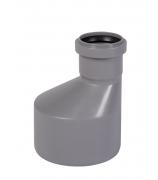 Переход эксцентрический для внутренней канализации 110/50 мм