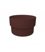 Муфта трубы соединительная ПВХ GL шоколадная