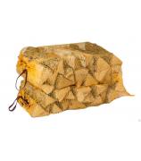 Дрова березовые в сетке камерной сушки 40л