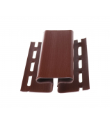 Профиль Н соединительный 3,00 GL коричневый