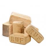 Топливные брикеты береза RUF (пыль 100% ) 10кг