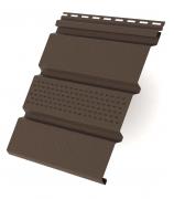 Соффит Т4 частично перфорированный 3,0 м GL коричневый