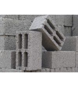 Блок керамзитобетонный 390*190*188