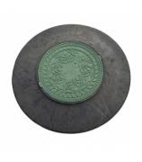 Конус-люк полимерно-песчаный (зеленая крышка)