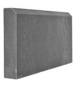 Бордюр полимерно-песчаный 500х250х55 серый