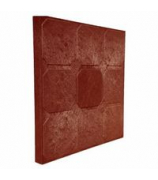 Плитка тротуарная полимернопесчаная 330х330х27 красная