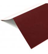 Конек полимерный 1,2м*0,15м красный