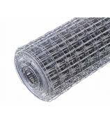 Сетка сварная 10-10-0.8мм. цинк