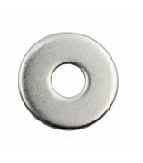Шайба 8 плоская (кузовная), DIN 9021, цинк (уп. 100 шт)
