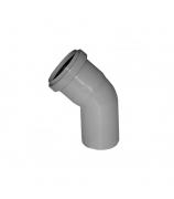 Отвод для внутренней канализации 50мм угол 45°