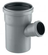 Тройник для внутренней канализации 110х50мм угол 45°