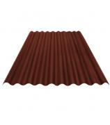 Лист Ондулин SMART 950х1950 мм коричневый (без гвоздей)