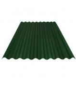 Лист Ондулин SMART 950х1950 мм зеленый (без гвоздей)